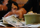 Money on Table